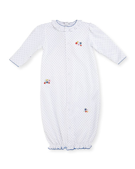 Kissy Kissy Strawberry Delight Convertible Sleep Gown,