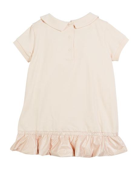 6d53a7a7a60b Moncler Contrast-Hem Dress w  Matching Bloomers