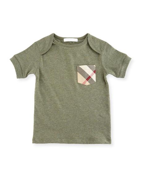 Callum Short-Sleeve Jersey Tee, Size 6M-3