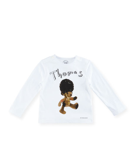 Burberry Boys' Thomas Bear T-Shirt, Size 6M-3Y