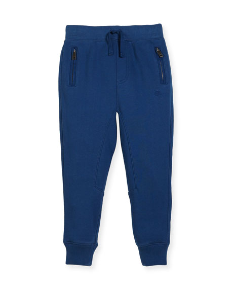 Phill Cotton Track Pants, Size 4-14