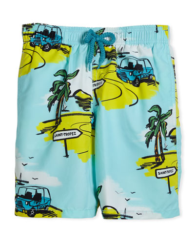 St. Tropez Swim Trunks, Size 10-14