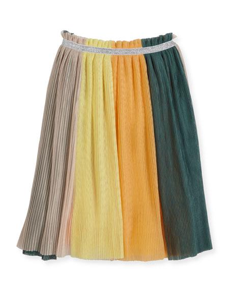 Brook Tulle Rainbow Skirt, Multicolor, Size 3T-14