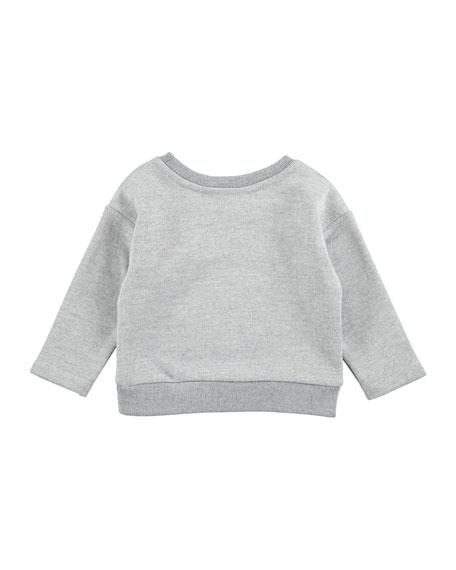 Doc Squirrel Sweatshirt, Gray, Size 12-24 Months