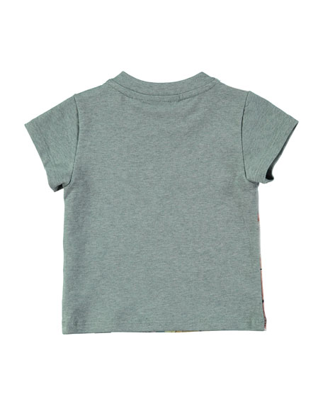 Earl Autumn Play Jersey Tee, Gray, Size 12-24 Months