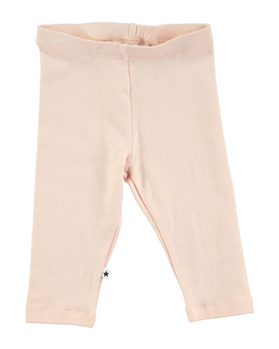 Nette Solid Stretch Leggings, Blush, Size 12-24 Months