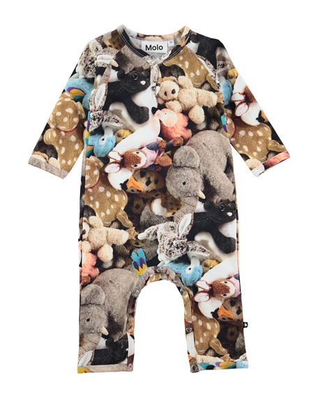 Fiona Friends Forever Stretch Jersey Coverall, Multicolor, Size 3-12 Months