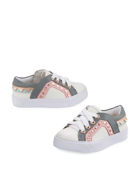Riko Mini Low-Top Sneaker, Size 5T-2Y
