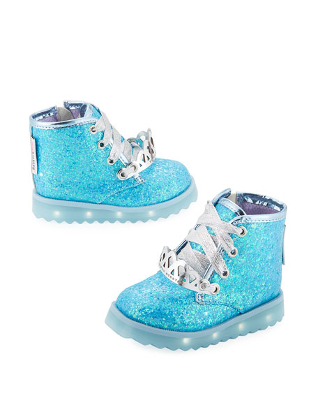 Wiley Royalty Leather Boot, Blue, Toddler/Youth
