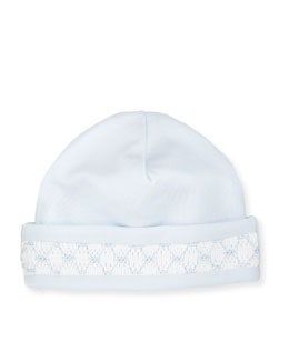 CLB Fall Pima Baby Hat, Light Blue