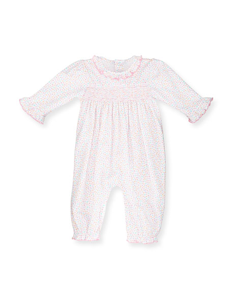 Kissy Kissy Darling Dachshunds Pima Coverall, Pink, Size