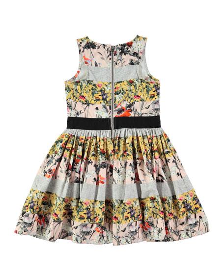 Carli Poetry in Motion Poplin Dress, Pink, Size 2T-12