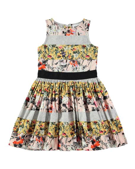 9c3d1ddd5711 Molo Carli Poetry in Motion Poplin Dress