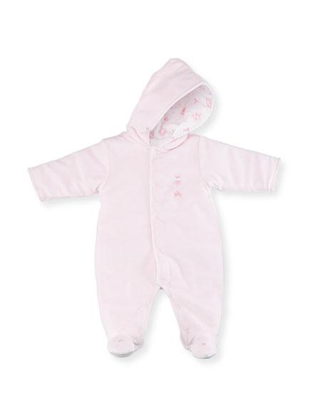 Kissy Kissy Hood Reversible Footie Pajamas, Size 0-9