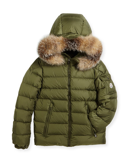 Boys' Byron Hooded Puffer Coat, Size 8-14