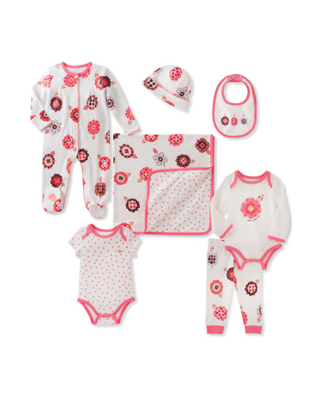 kate spade new york 7-Piece Started Layette Set,