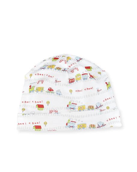 Kissy Kissy IB Red Caboose Print Hat