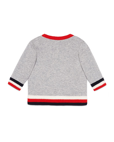 Long-Sleeve Octopus Sweatshirt, Size 12-36 Months