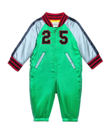 Padded Nylon Snowsuit, Size 3-18 Months