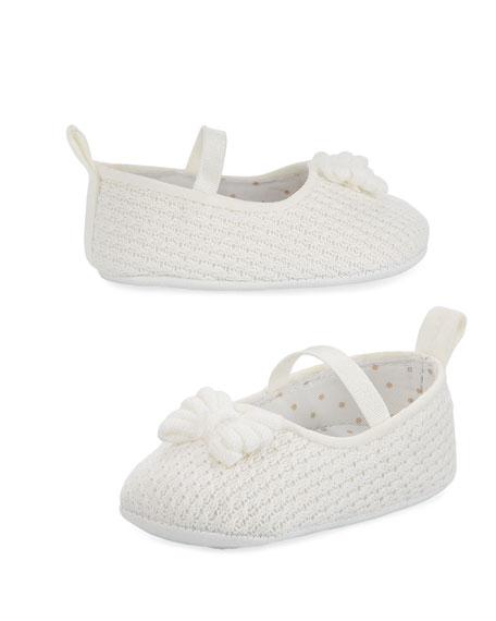 Knit Cotton Mary Jane w/ Box, Infant