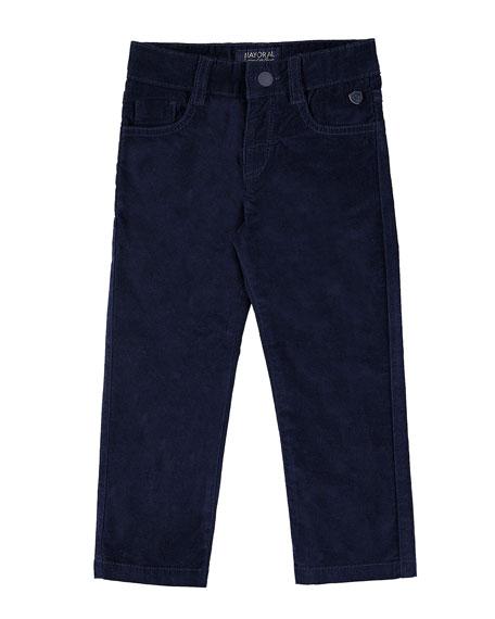 Velour Pants, Size 3-7