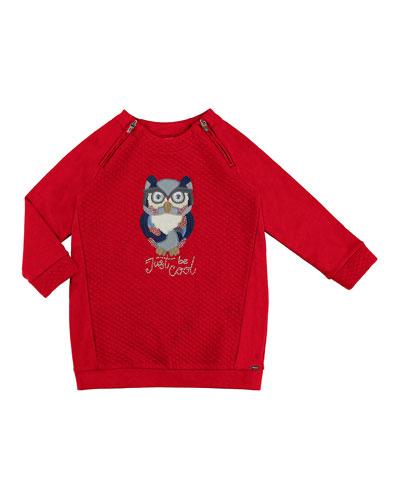 Padded Owl Dress, Size 3-7