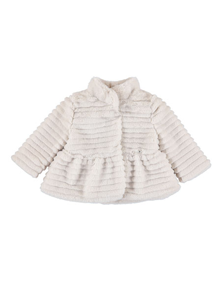 Faux-Fur Coat, Size 6-36 Months