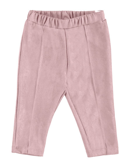 Mayoral Faux-Suede Leggings, Size 6-36 Months