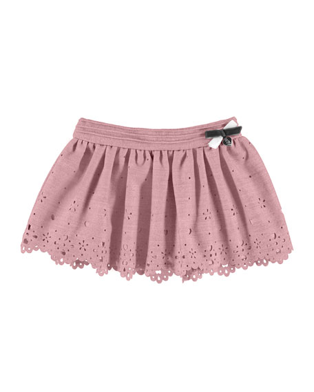 Mayoral Laser-Cut Bow Skirt, 6-36 Months