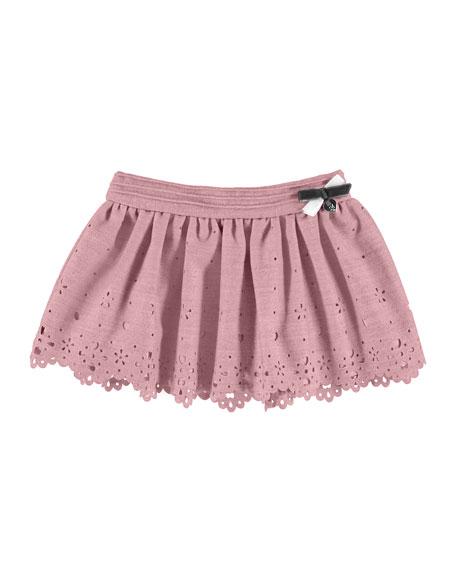 Laser-Cut Bow Skirt, 6-36 Months