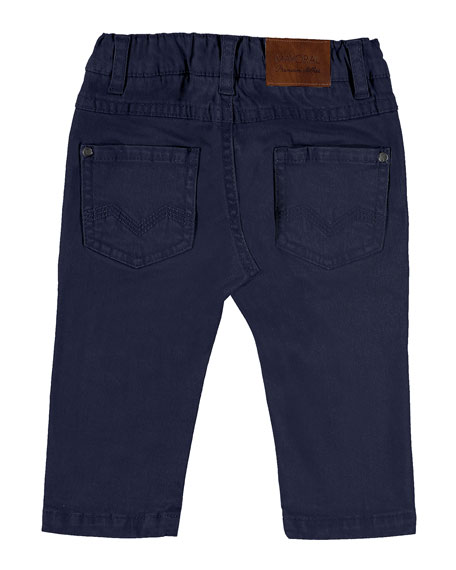 5-Pocket Twill Trousers, Size 6-36 Months