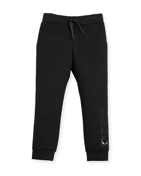 Boys' Neoprene Jogging Pants, Size 10-14