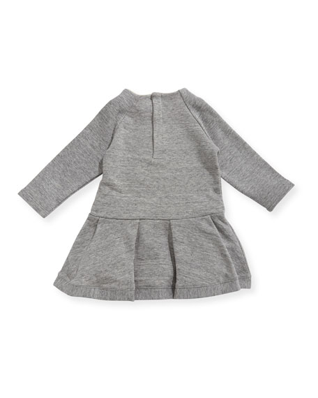 Soft Chic Long-Sleeve Dress, Size 12-18 Months