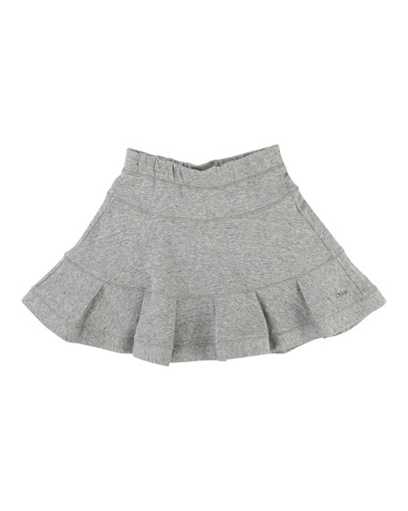Girls' Flare Skirt, Size 6-10