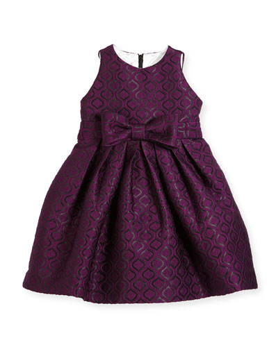 Geo Jacquard Dress, Size 2-6
