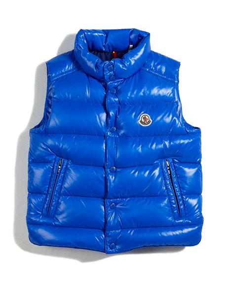 Moncler Tib Puffer Vest, Size 4-6