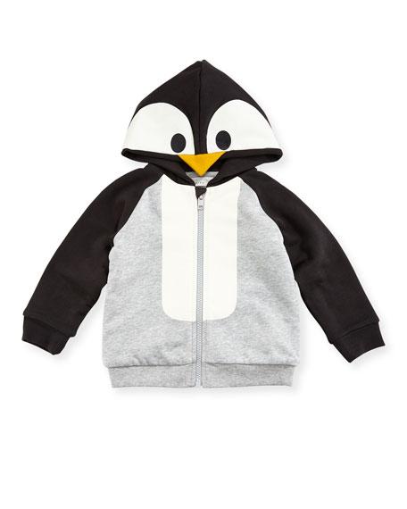 Buddy Penguin Hoodie Sweatshirt, 3-36 Months