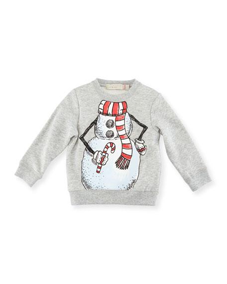 Biz Snowman Sweatshirt, Size 6-36 Months