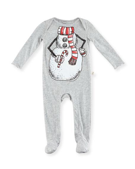 Rufus Snowman Footie Pajamas, Size 3-9 Months