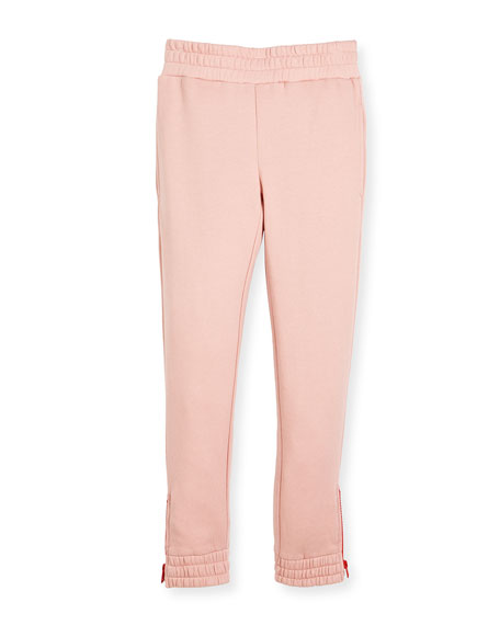 Stella McCartney Melba Jersey Knit Pant w/ Zipper