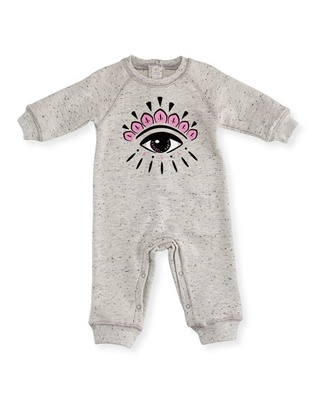 Eye-Graphic Coverall, Size 3-18 Months
