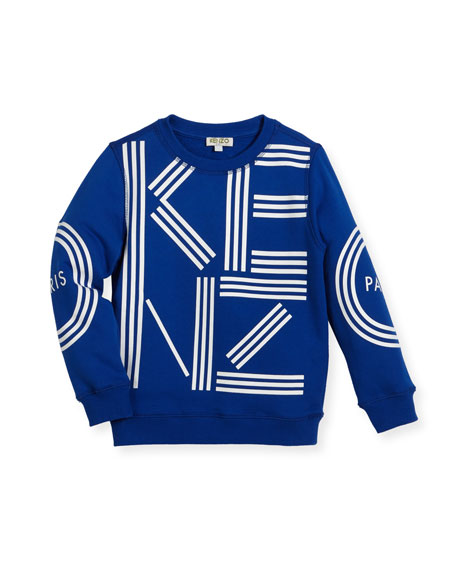 Big Logo Sweater, Size 8-12