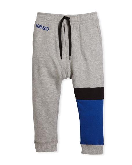 Colorblock Sweatpants, Size 4-6