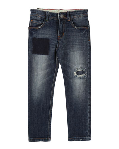 Cool Effects Denim Trousers, Size 6-10