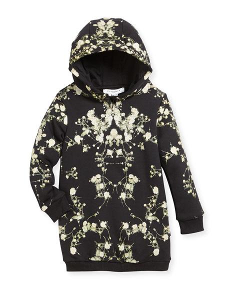 Baby's Breath Hooded Sweatshirt Dress, Size 12-14
