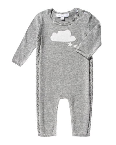 Knit Cloud Coverall, Size 0-12 Months
