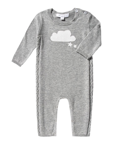 Angel Dear Knit Cloud Coverall, Size 0-12 Months