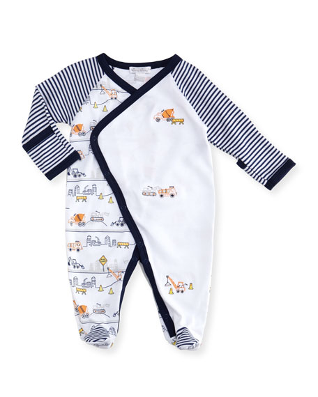 City Demo Pima Footie Playsuit, Size Newborn-9M