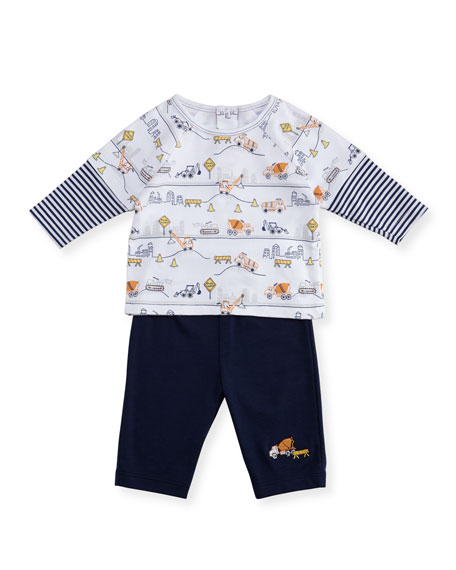 Kissy Kissy City Demo Shirt & Pant Set,