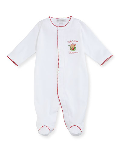 Baby's First Christmas Footie Pajamas, Size 0-9 Months